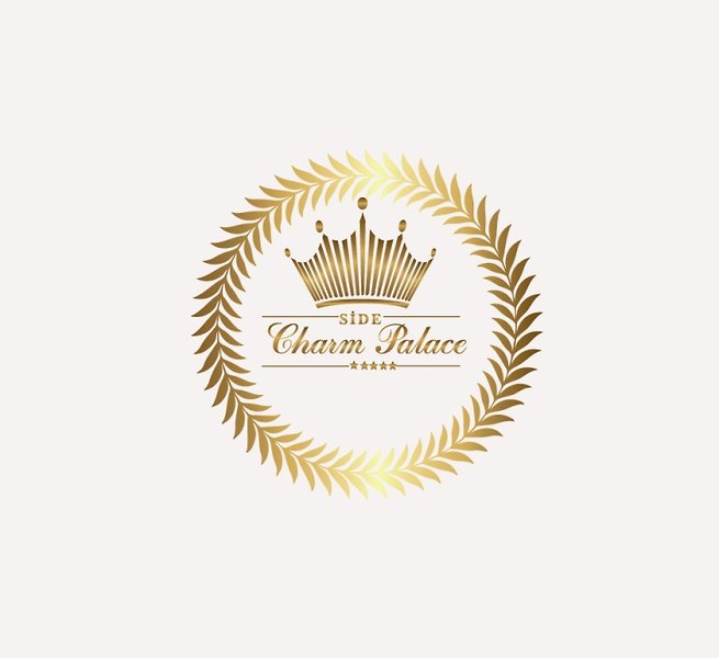 Side Crown Charm Palace Logo