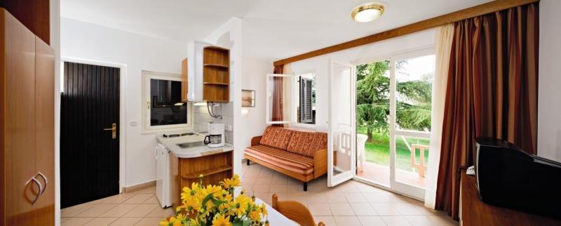 Apartments Polynesia Plava Laguna Wohnbeispiel