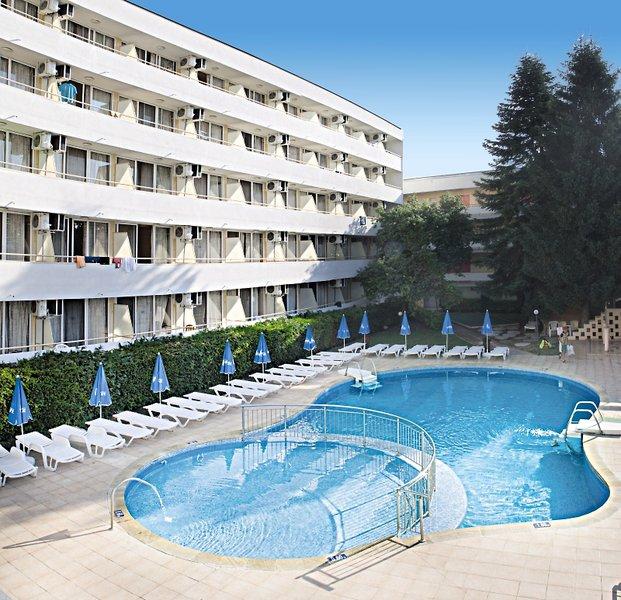 Oasis Hotel Albena Außenaufnahme