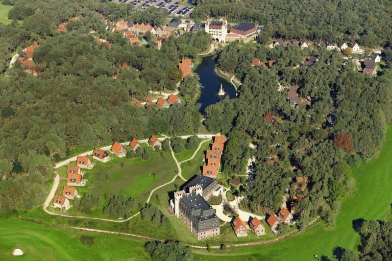Efteling Village Bosrijk Luftaufnahme