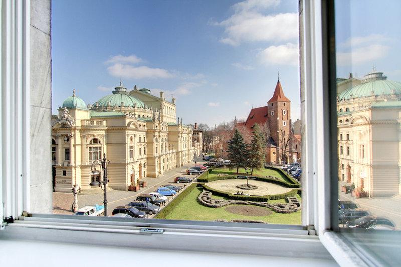 Krakow City Apartments Terrasse