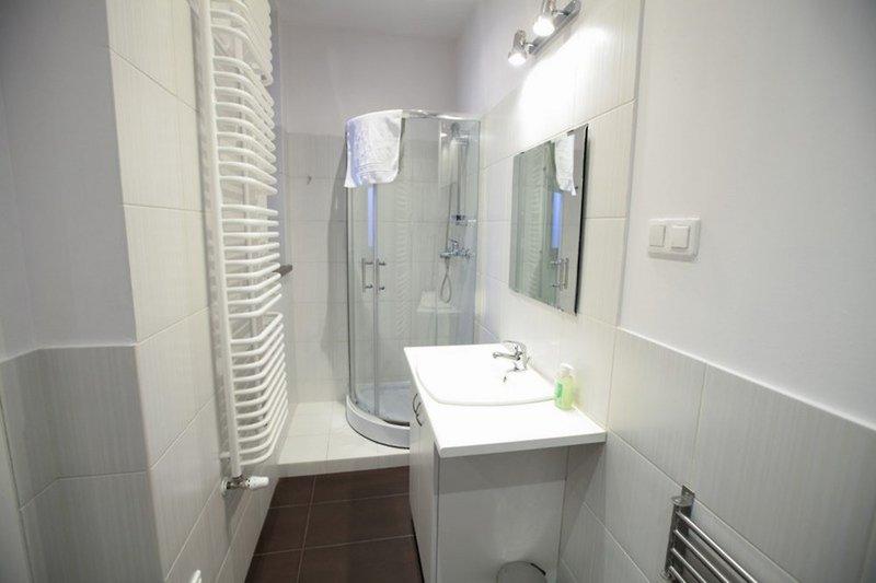 Krakow City Apartments Badezimmer