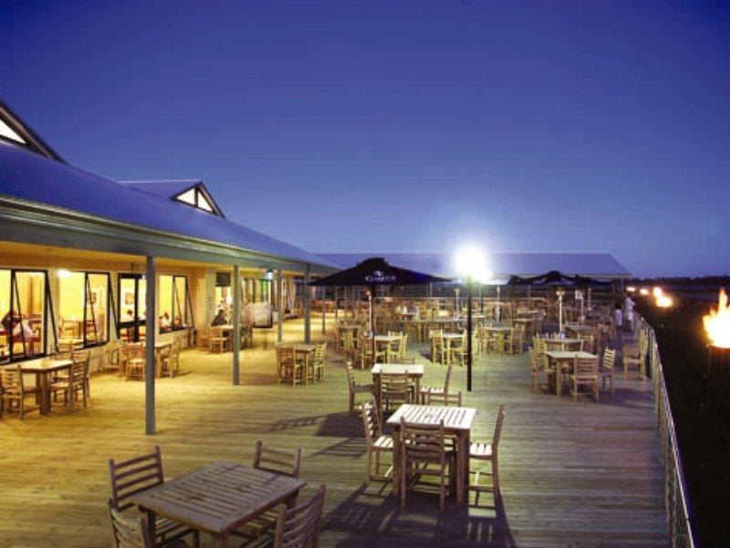 Tidal Waters Resort Terrasse