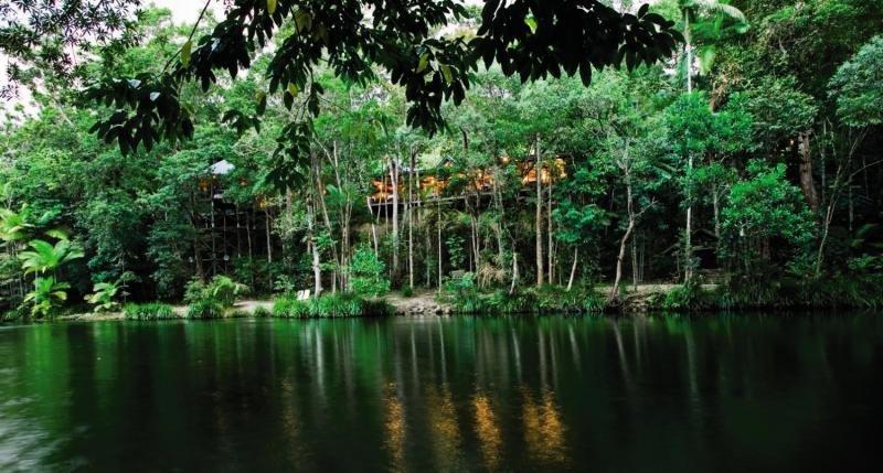 Silky Oaks Lodge & Healing Waters Spa Garten