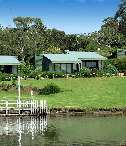 Gipsy Point Lakeside Resort Garten