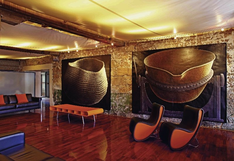 The Henry Jones Art Hotel Lounge/Empfang