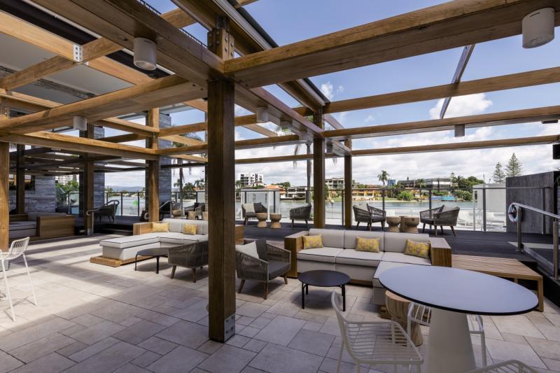 Vibe Hotel Gold Coast Terrasse