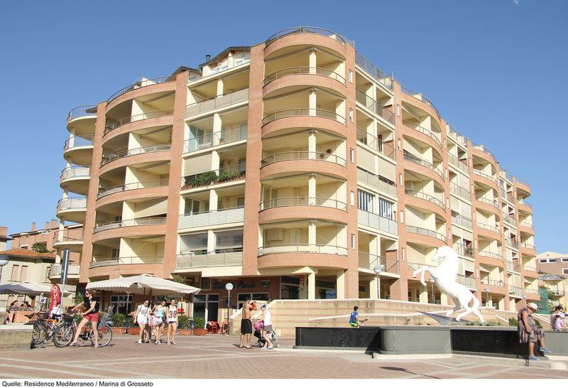 Residence Mediterraneo Außenaufnahme