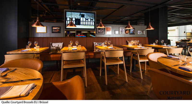 Courtyard by Marriott Brussels EU Bar