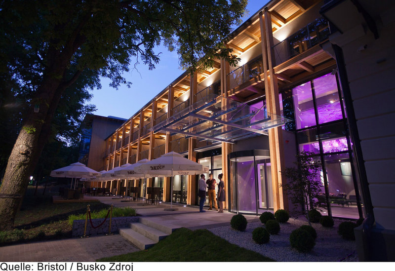 Hotel Bristol Busko-Zdroj Art & Medical Spa Außenaufnahme