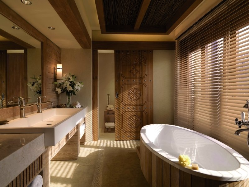 Anantara Sir Bani Yas Island Al Yamm Villa Resort Badezimmer