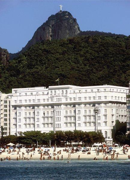 Belmond Copacabana Palace Außenaufnahme