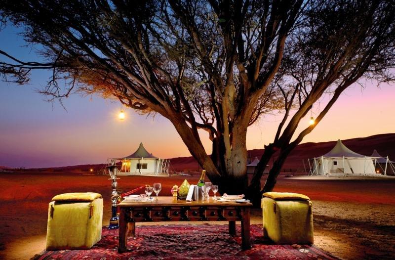 Desert Nights Camp Garten