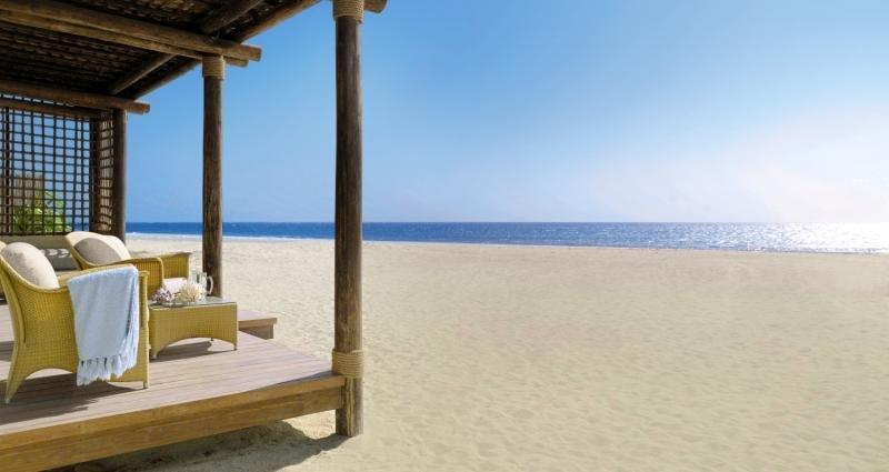 Anantara Sir Bani Yas Island Al Yamm Villa Resort Strand