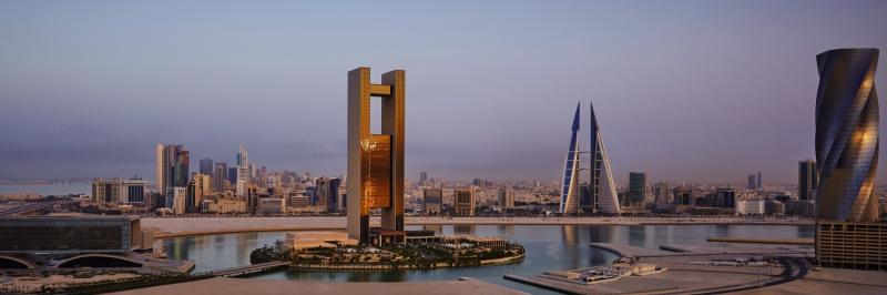 Four Seasons Hotel Bahrain Bay Terrasse
