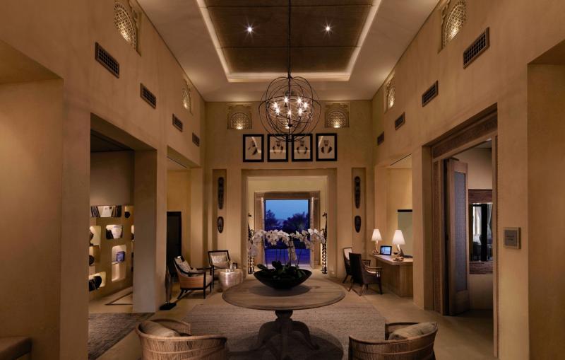 Anantara Sir Bani Yas Island Al Yamm Villa Resort Lounge/Empfang