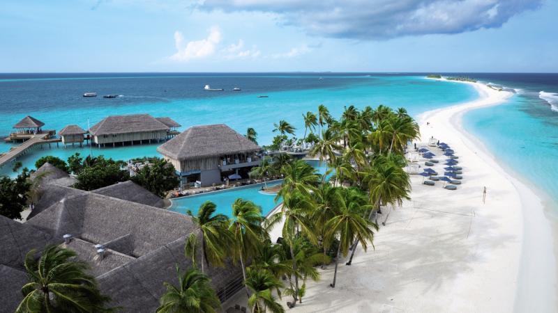 Finolhu Baa Atoll Maledives  Außenaufnahme