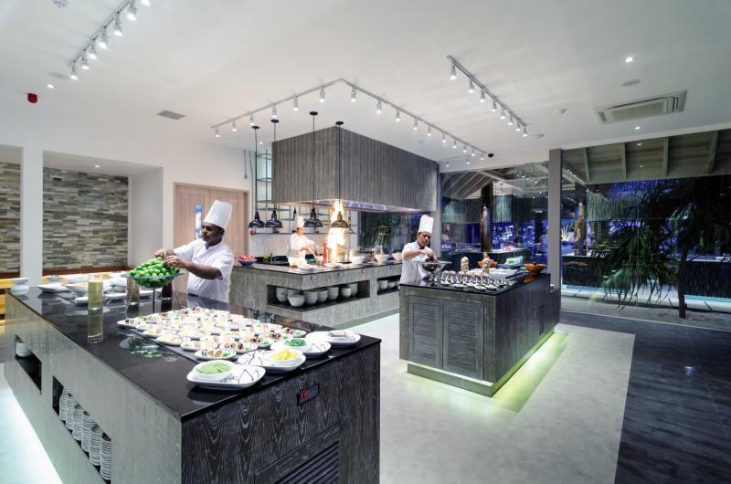 Finolhu Baa Atoll Maledives  Restaurant