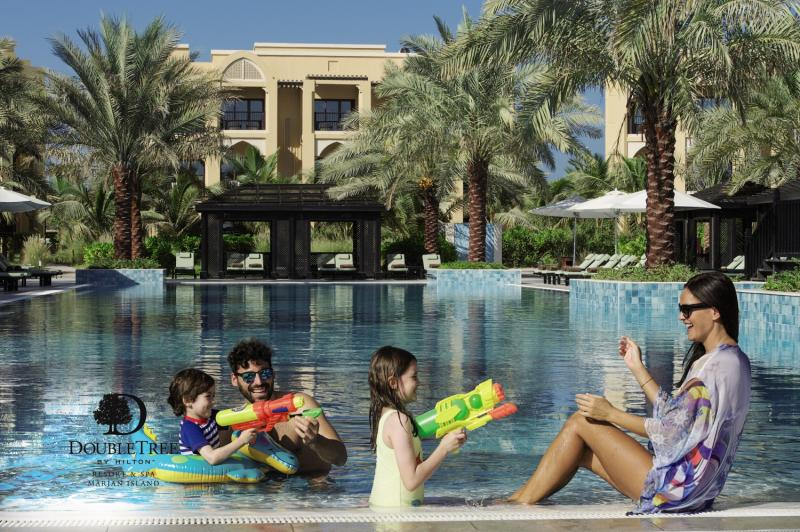 Doubletree by Hilton Resort & Spa Marjan Island Pool