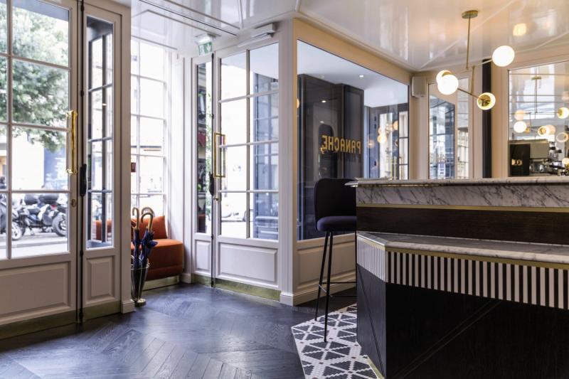 Hotel Panache Lounge/Empfang