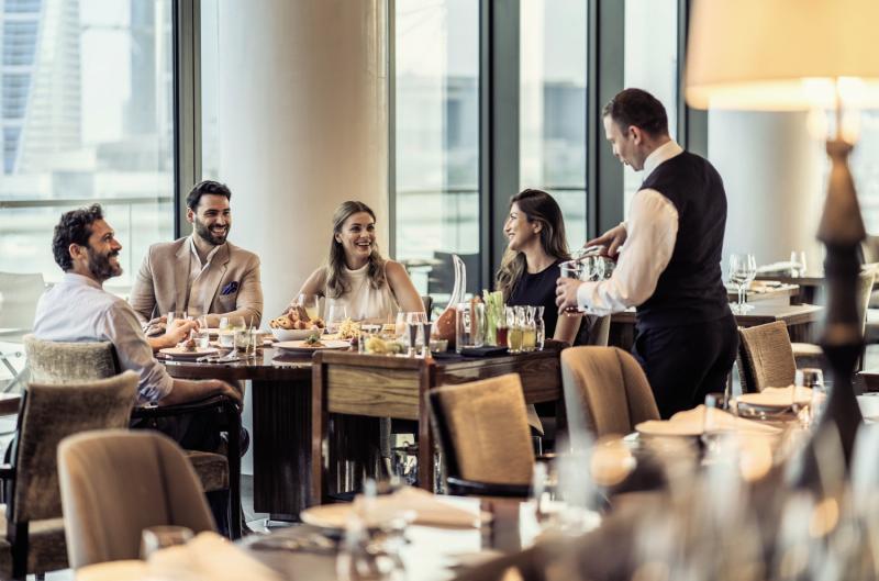 Four Seasons Hotel Bahrain Bay Restaurant