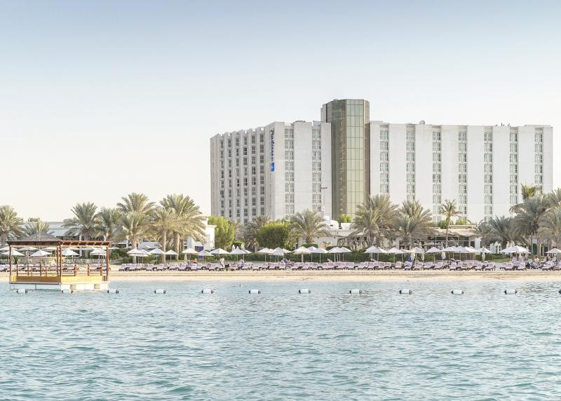 Radisson Blu Hotel & Resort Abu Dhabi Corniche Außenaufnahme