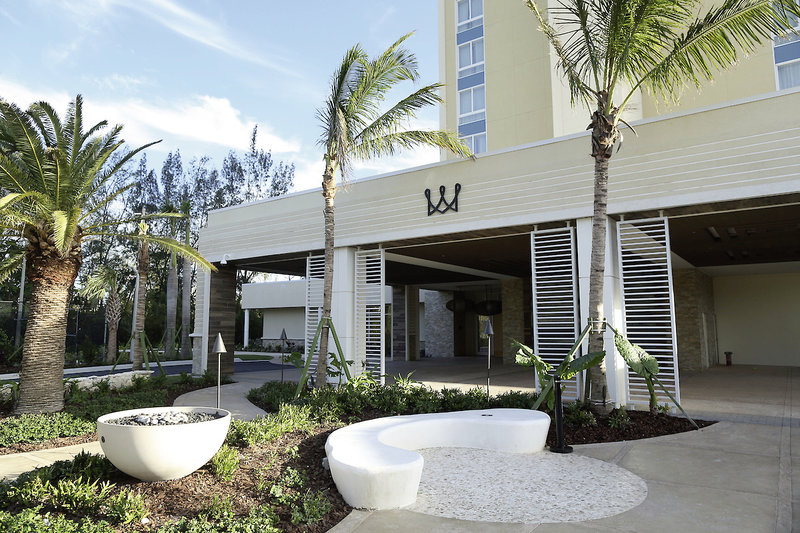 Warwick Paradise Island Bahamas - Erwachsenenhotel Terrasse
