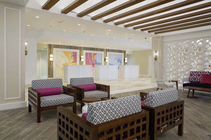 Warwick Paradise Island Bahamas - Erwachsenenhotel Lounge/Empfang