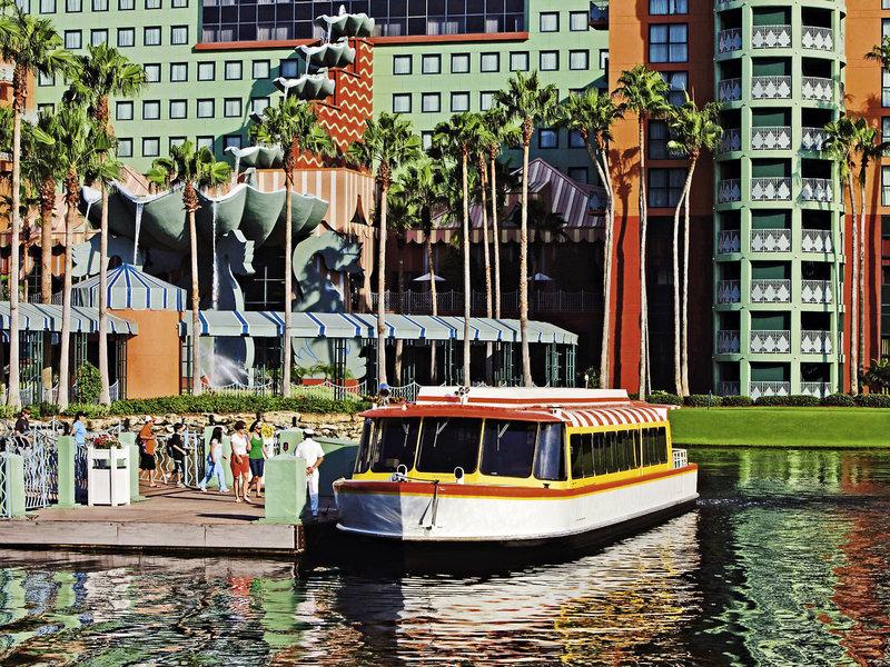 Walt Disney World Dolphin Außenaufnahme