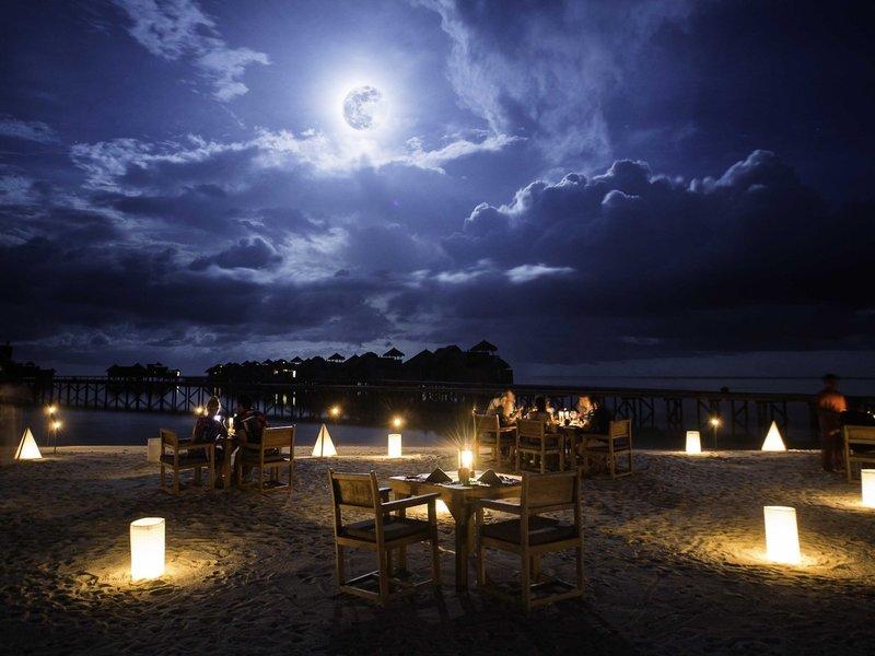 Gili Lankanfushi Terrasse