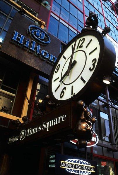 Hilton Times Square Außenaufnahme