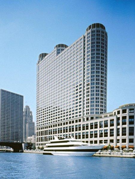 Sheraton Grand Chicago Außenaufnahme