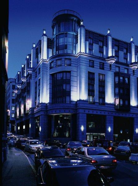 Radisson Blu Royal Brüssel Außenaufnahme