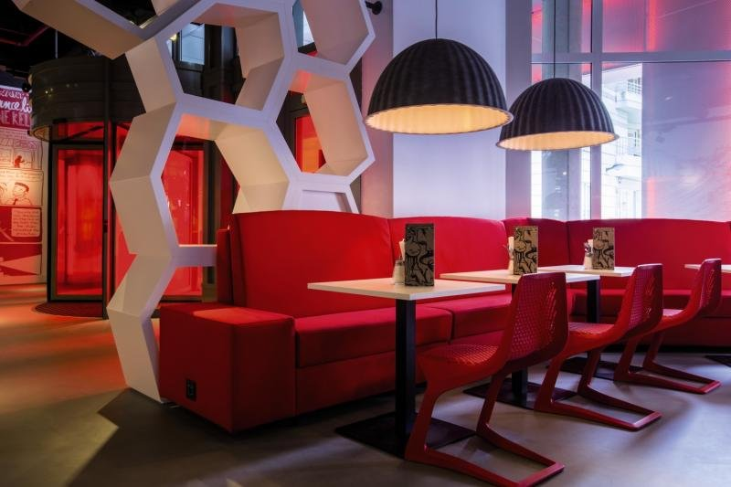 Radisson Red Brussels Lounge/Empfang