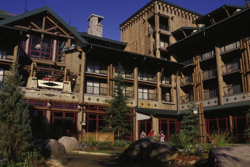 Disney´s Wilderness Lodge Außenaufnahme