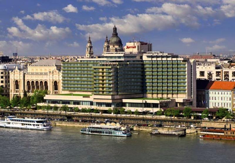 Budapest Marriott Hotel Außenaufnahme