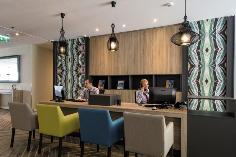 The Three Corners Lifestyle Hotel Lounge/Empfang
