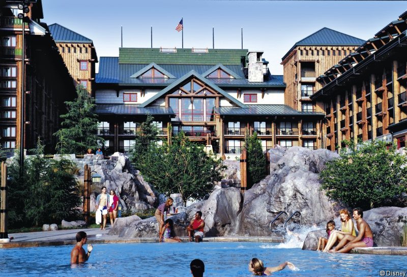 Disney´s Wilderness Lodge Pool