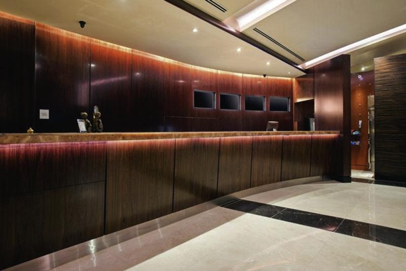 Hilton Times Square Lounge/Empfang