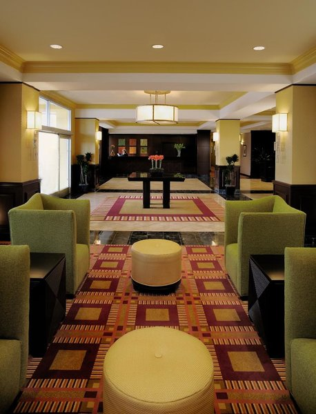 Dallas Marriott Suites Medical/Market Center Lounge/Empfang