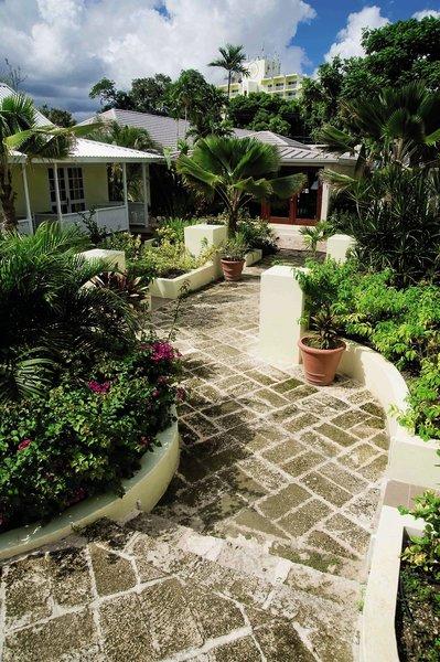 Island Inn Garten