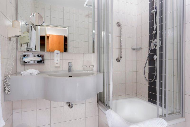 Best Western Hotel Rastatt Badezimmer