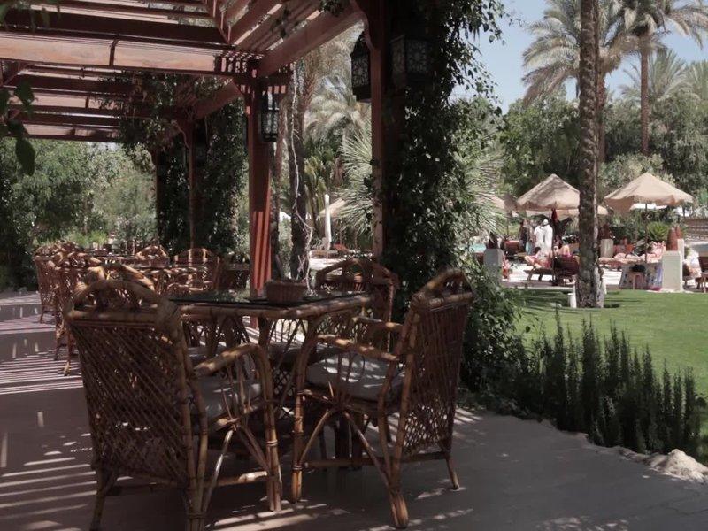 Makadi Palace Terrasse