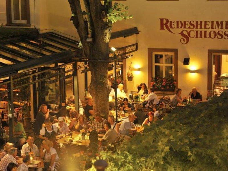 Breuer´s Rüdesheimer Schloss Lounge/Empfang