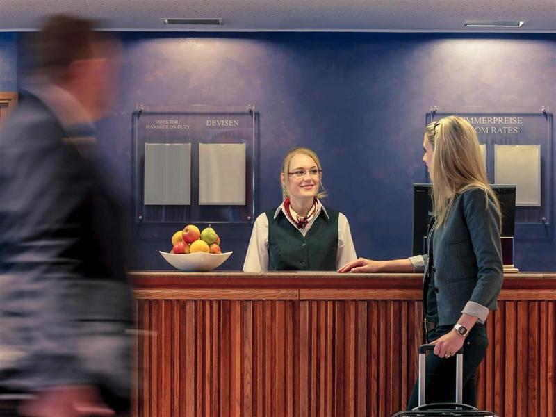 Mercure Saarbrücken City Lounge/Empfang