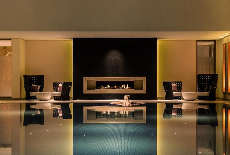 Severins Resort & Spa Hallenbad