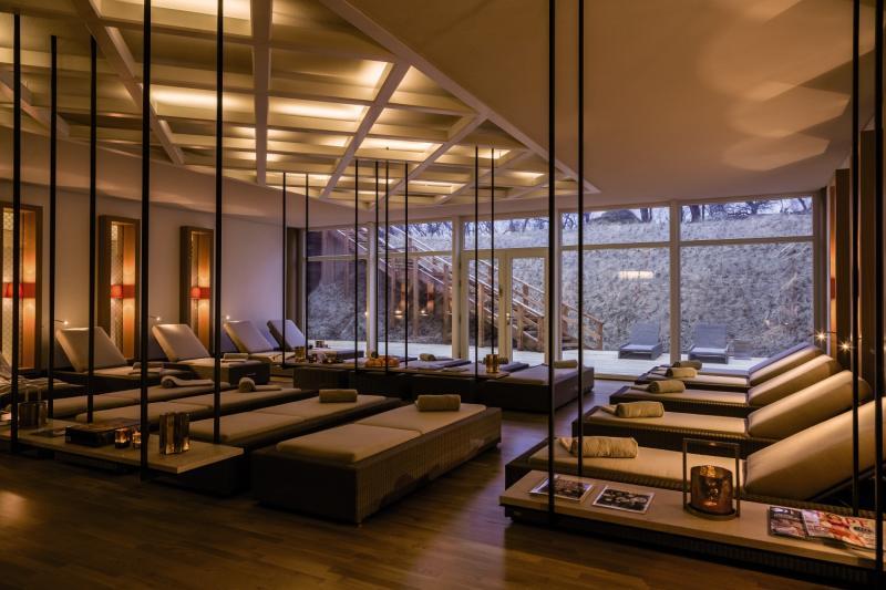 Severins Resort & Spa Lounge/Empfang