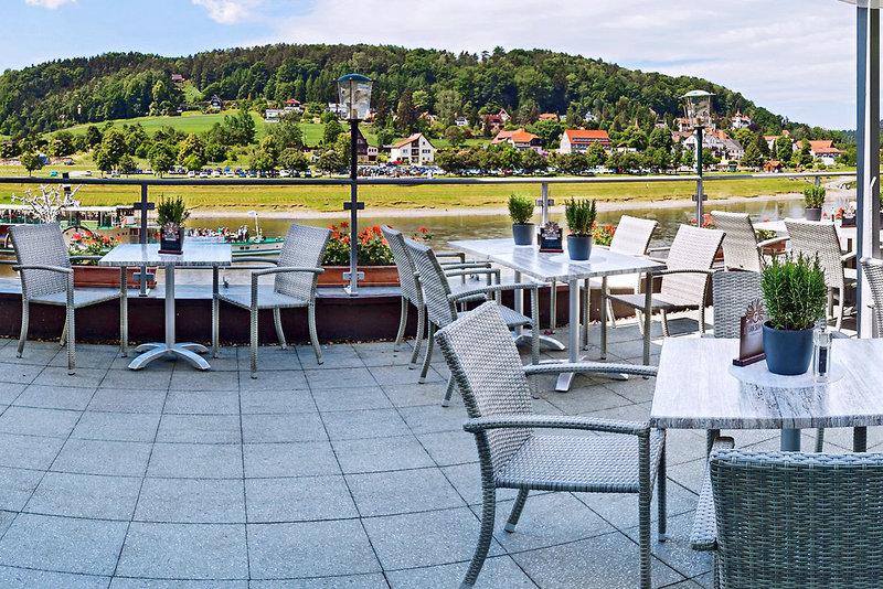 Elbschlösschen Terrasse