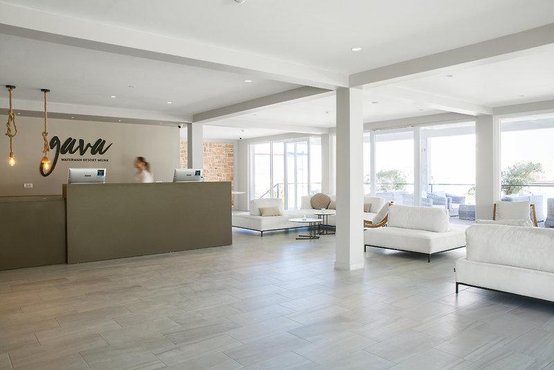 Waterman Milna Resort Lounge/Empfang