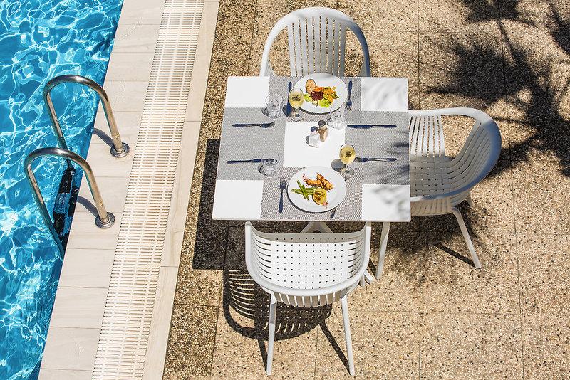 Waterman Milna Resort Terrasse